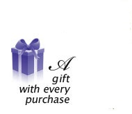 A gift with every purchase - Thank You for Your Business!